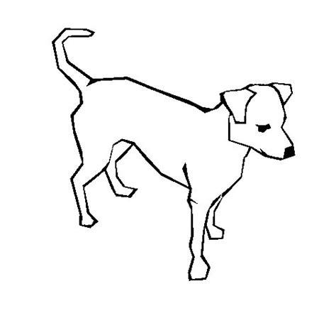 dibujos de perros para colorear dibujosnet dibujo de perro 6a para colorear dibujos net