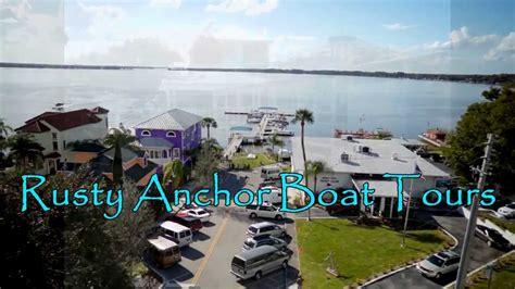 boat tour mount dora rusty anchor boat tours in mount dora fl youtube