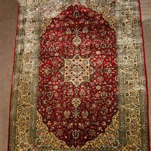 Silk Carpet Kashmir Silk Carpet From India Silk Carpets Of