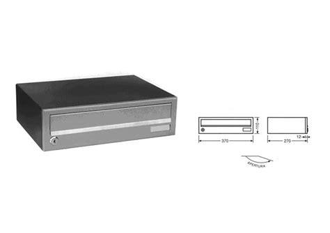 cassetta della posta da incasso cassette postali per esterno da applicare o da incasso