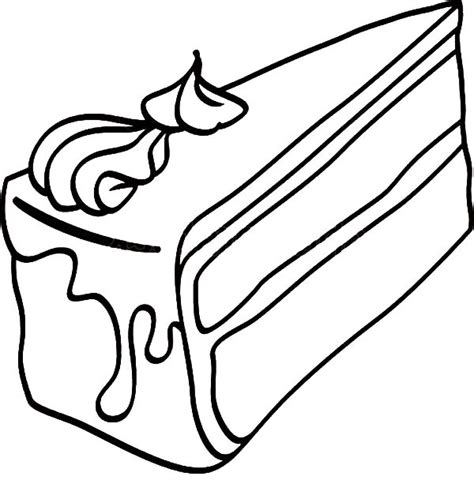 cake slice coloring page black forest cake slice coloring pages black forest cake