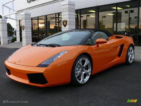 2008 arancio borealis orange lamborghini gallardo spyder 903079 gtcarlot car color