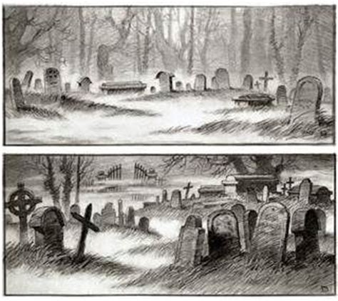 drawings of graveyards bing images graveyards pinterest