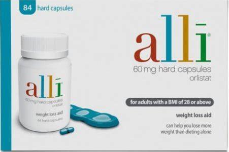 alli weight loss pills 60mg pack of 84