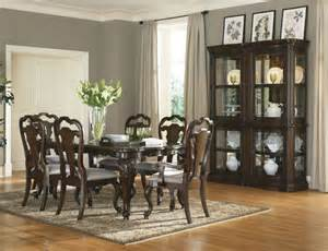 Traditional Dining Room Furniture by The Furniture Elegant Gently Shaped Solid Wood