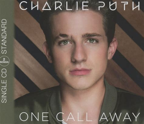 charlie puth call away charlie puth one call away cd at discogs