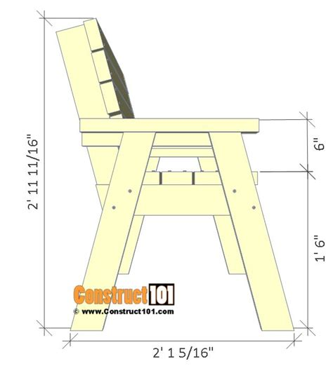 bench plan view 25 unique 2x4 bench ideas on pinterest benches diy