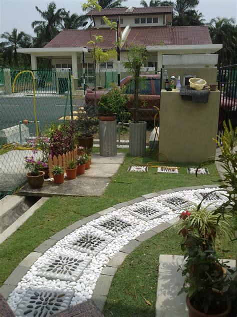 panduan landskap laman rumah menarik dekorasi halaman rumah landskap halaman rumah teres desainrumahid com