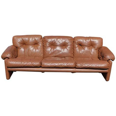 coronado sofa tobia scarpa for b b italia coronado leather sofa at 1stdibs