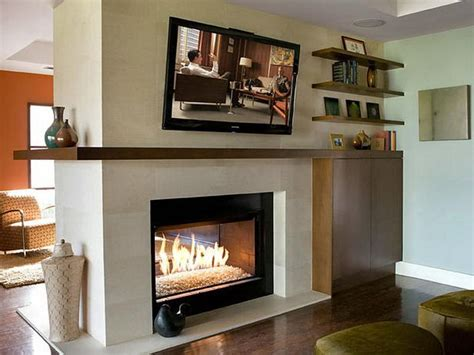 bloombety modern double sided fireplace different design