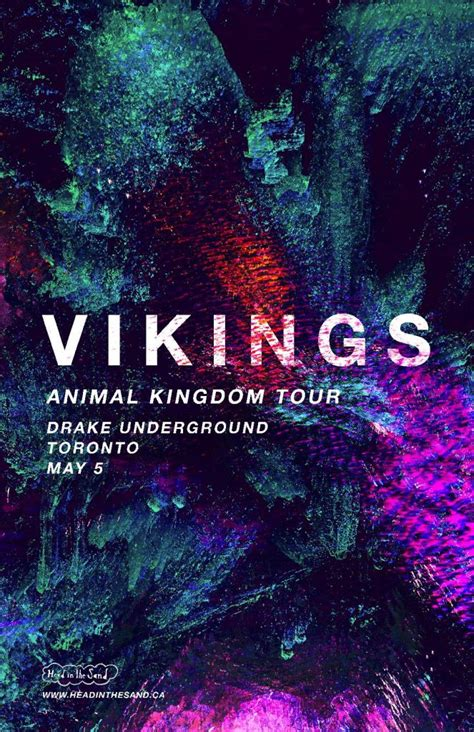 Vikings Tickets Giveaway - ticket giveaway vikings the drake underground toronto a music blog yea