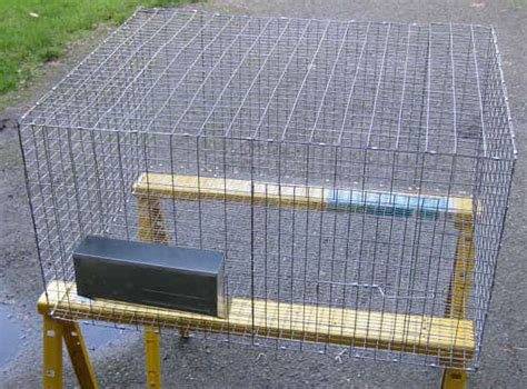 Build Your Own Rabbit Hutch Plans rabbit cage plans how to build your own all wire rabbit cage