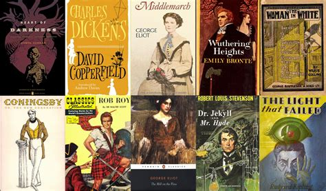 britain classic reprint books the 50 greatest novels of the 19th century