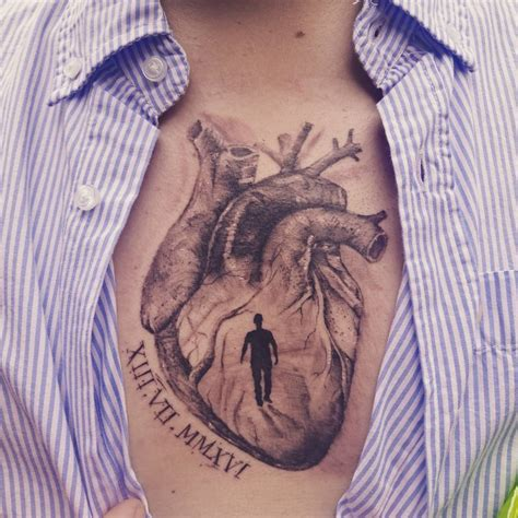 anatomical heart tattoo designs 110 sensitive anatomical designs
