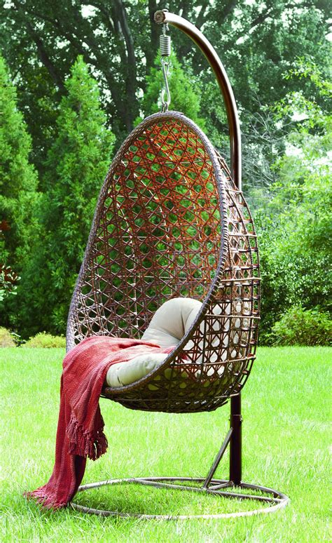 hanging chairs for outside furniture together with renava oahu outdoor hanging