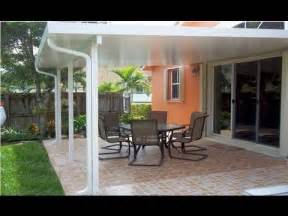 how much do aluminum patio covers cost cover patios