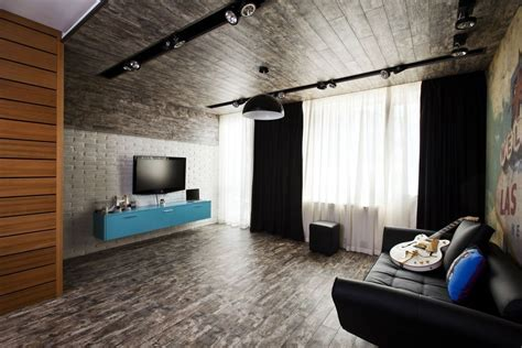 Carpet Ceiling by Apartment In Sofia Egger Wood Based Materials Archinect