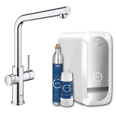 grohe blue home erfahrungen grohe blue home duo l spout water filter tap appliance