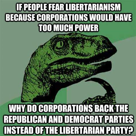 Libertarian Meme - libertarian are conservative related keywords