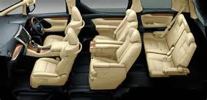 Toyota Alpart 2015 Toyota Alphard Price Specs Review Interior
