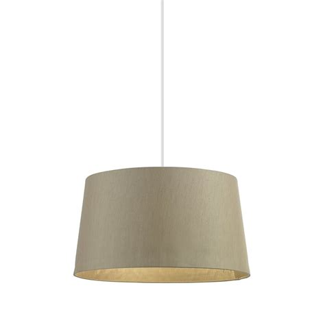 16 inch l shade endon lighting cordelia 16 inch gold faux silk shade