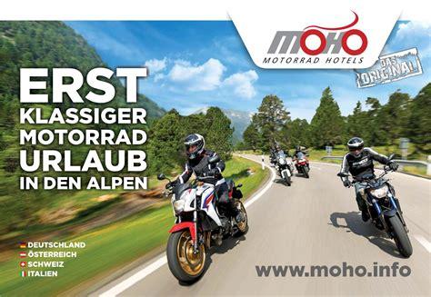 Motorrad Hotels Austria by Moho Motorrad Hotels 2016 By Mts Austria Gmbh Marketing
