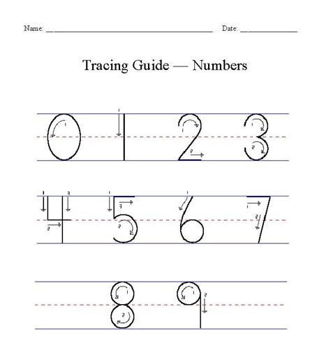 road numbers printable for learning how to write numbers 17 best images about learn to write the numbers on worksheets for kindergarten