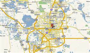 Maps Orlando by Maps Of Orlando Central Florida Highway Maps Orlando