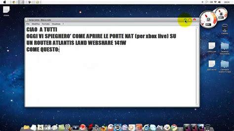 porte xboxlive come aprire porte nat per xbox live con router atlantis