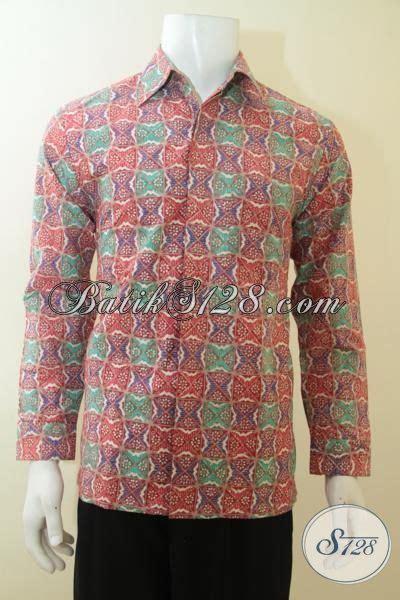 Kemeja Furing Batik Kombinasi Tulis Dan Cap 49 kemeja batik lengan panjang dengan warna modern yang cerah khas anak muda baju batik cap tulis