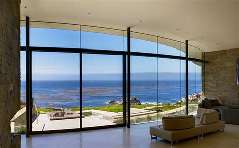 Houses With Big Windows Decor Floor To Ceiling Windows A New Way To Define Your Home