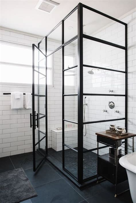 black shower bench 25 best ideas about large shower on pinterest large