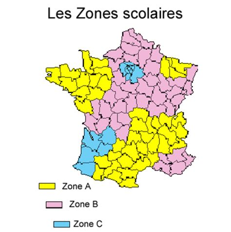 Zone Vacances Scolaires Zones Vacances Scolaires T 234 Te 224 Modeler