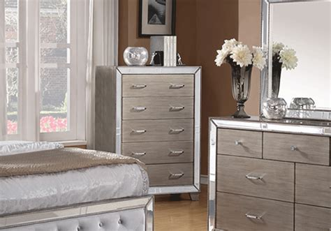 Silver King Bedroom Set by Cosette Silver King Bedroom Set Overstock