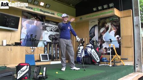 golf swing around the body golf swing over the top lower body issues youtube