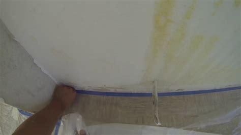 wasserflecken decke wasserflecken isolieren mit isolierspray