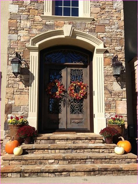 modern front door decor 102 best modern fall decorations sets ideas images on