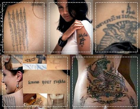 angelina jolie tattoo cover how to easy create your own wiki video clip watch