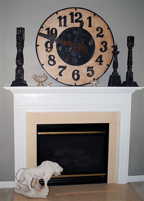 update gas fireplace diy updating a fireplace no more brass the graphics