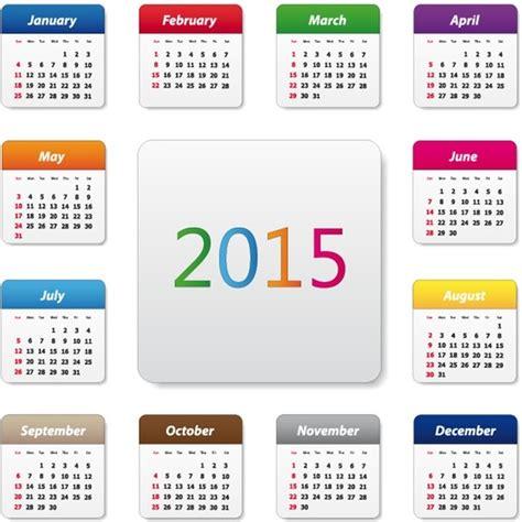 design calendar illustrator 2015 calendar design vector illustration free vector in