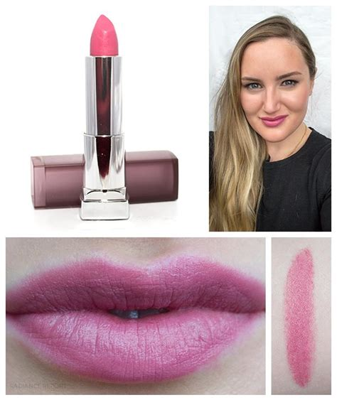 Lipstick Makeover Lust the radiance report dailyswatch maybelline matte lipstick in lust for blush click