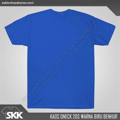 Kaos Polos Biru Muda Cotton Combed 20s Size Xl kaos polos oneck harga grosir termurah di jakarta selatan