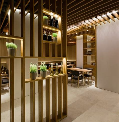 wooden partitions great designs from the room divider made of wood home
