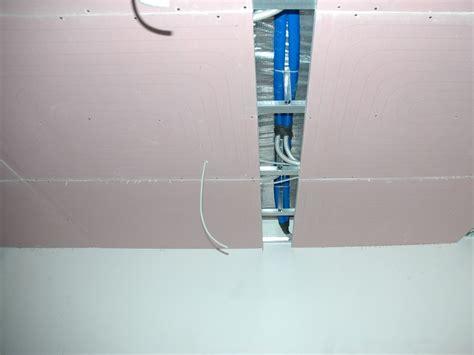 pannello radiante a soffitto pannello radiante a soffitto in gessofibra uponor teporis