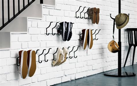shoe hooks storage 45 creative ideas to store your shoes shelterness
