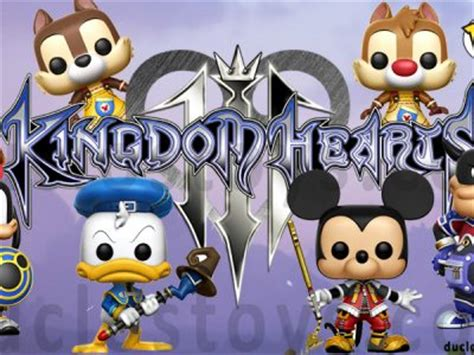 Funko Pop Orginal Disney Kingdom Hearts Donald duclos toys figures collectibles toys