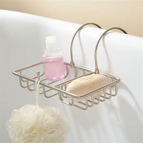 bathroom shower soap holder soap basket with sponge holder bathroom