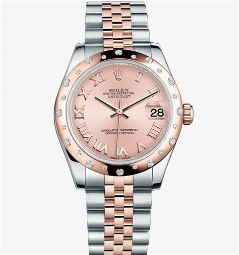 Rolex Datejust Combi Gold For cheap replica rolex datejust 31 everose rolesor combination of 904l steel and 18
