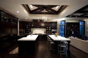 Kitchen Island With Seating For 6 22 beautiful kitchen colors with dark cabinets home