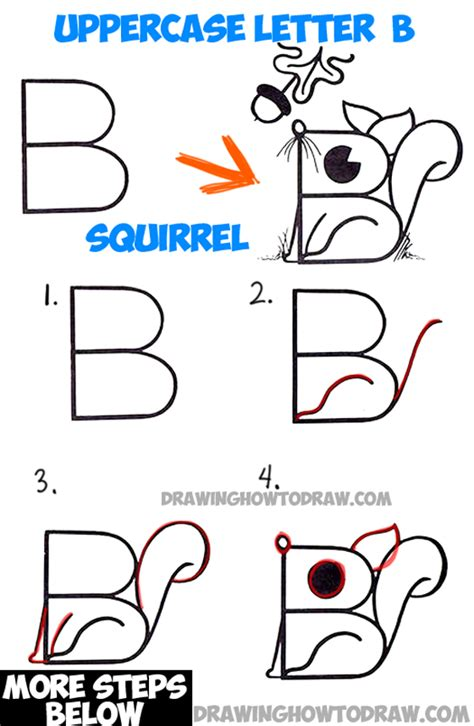 Drawing B Letter by Letter Drawings Archives How To Draw Step By Step